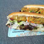 Vegetarische Hot Dogs mit Quinoa