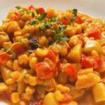Chowder mit Mais und Paprika vegan