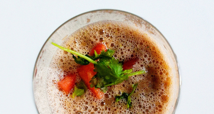 Erfrischende Melonen-Gazpacho