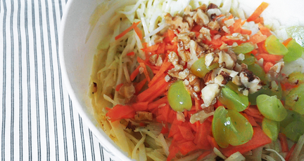 Kohlrabi Coleslaw – der Out-of-the-Box Krautsalat