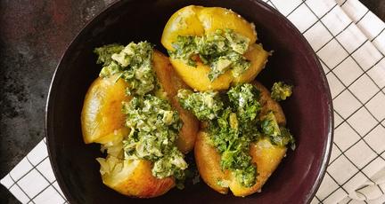 Geröstete Kartoffeln mit Salsa Verde