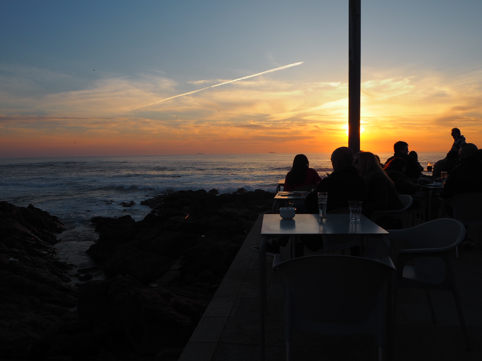 Sunset View iBar Porto
