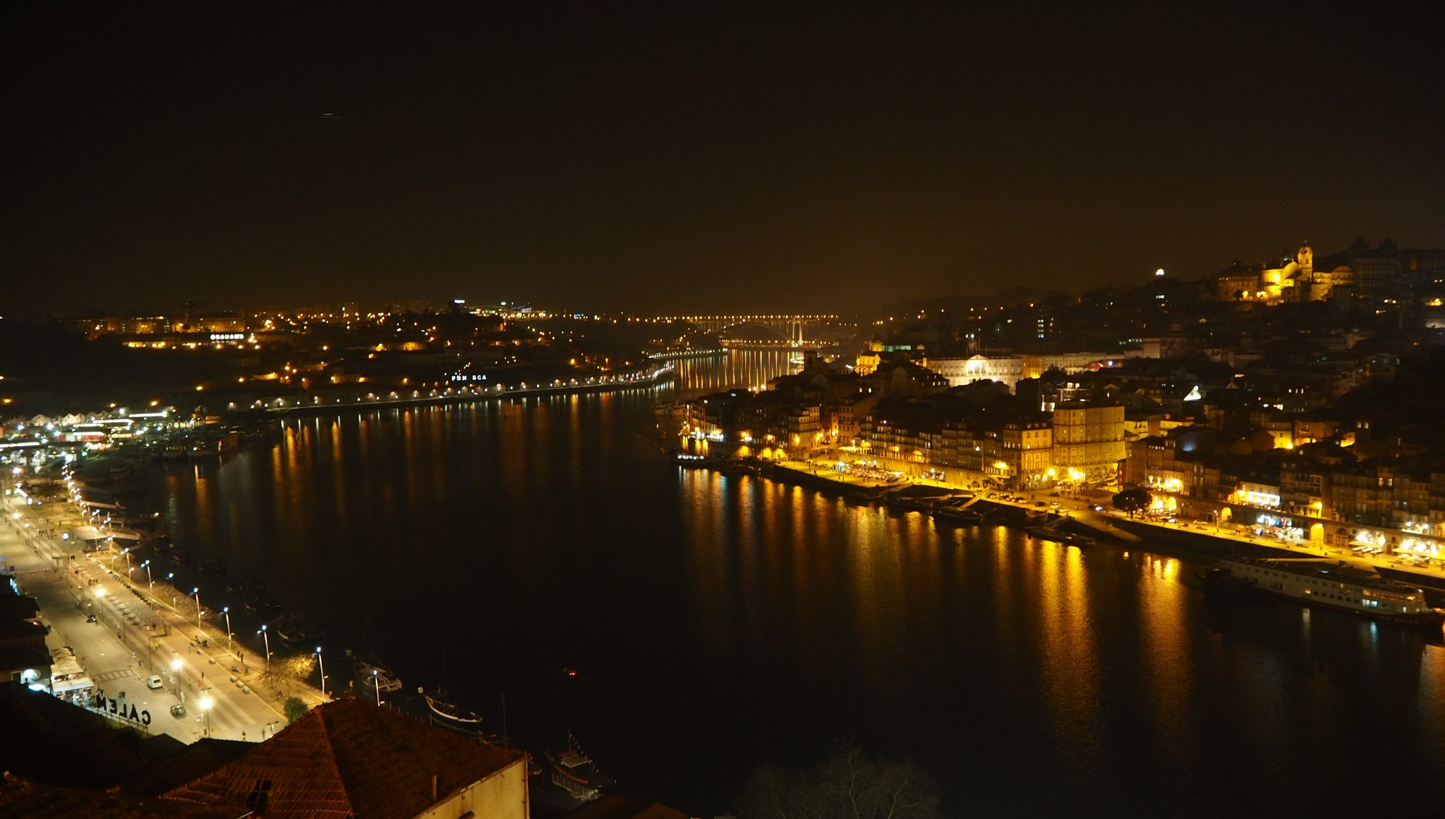 View from ponte luis in porto