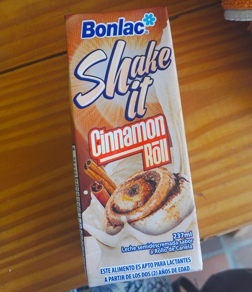 Bonlac Shake it Cinnamon Roll