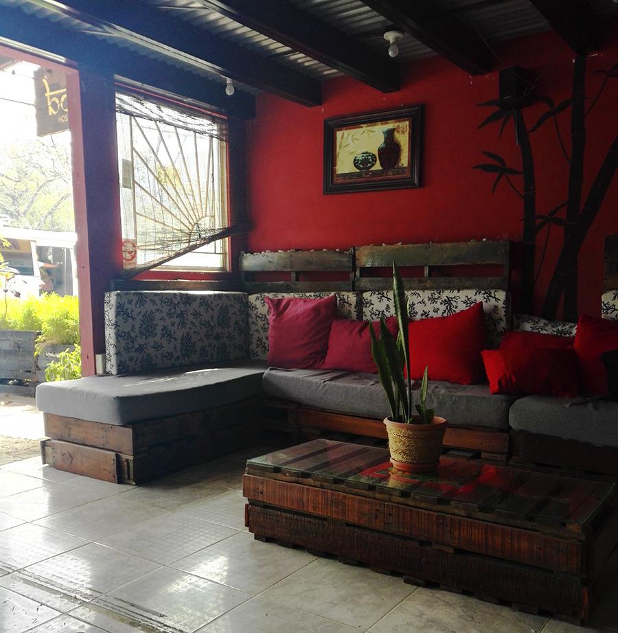 Eingangsbereich Bodhi Hostel El Valle de Antón
