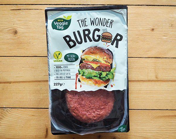 Wonder Burger Verpackung