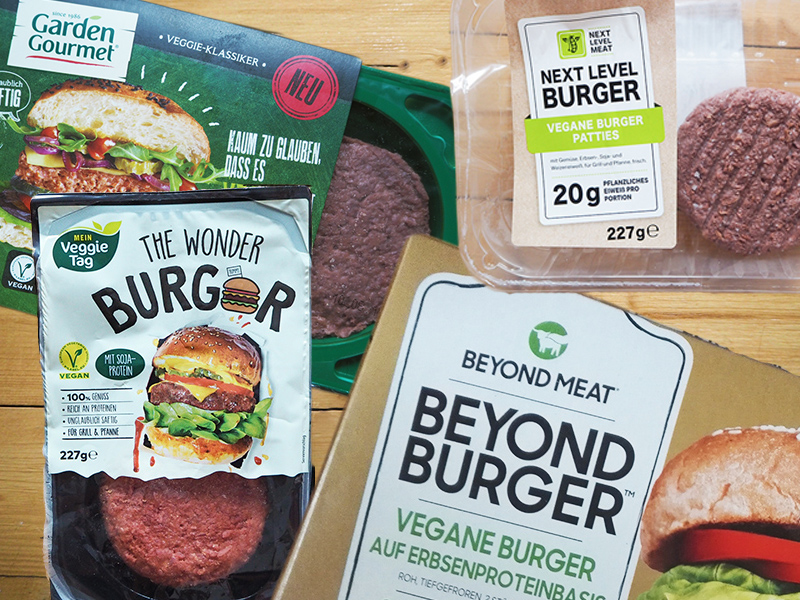 vegane burger vergleich