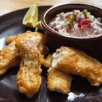 Fisch mit Bierteig ohne Fritteuse