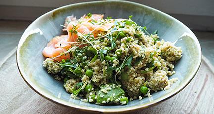Couscous-Salat mit Rucola