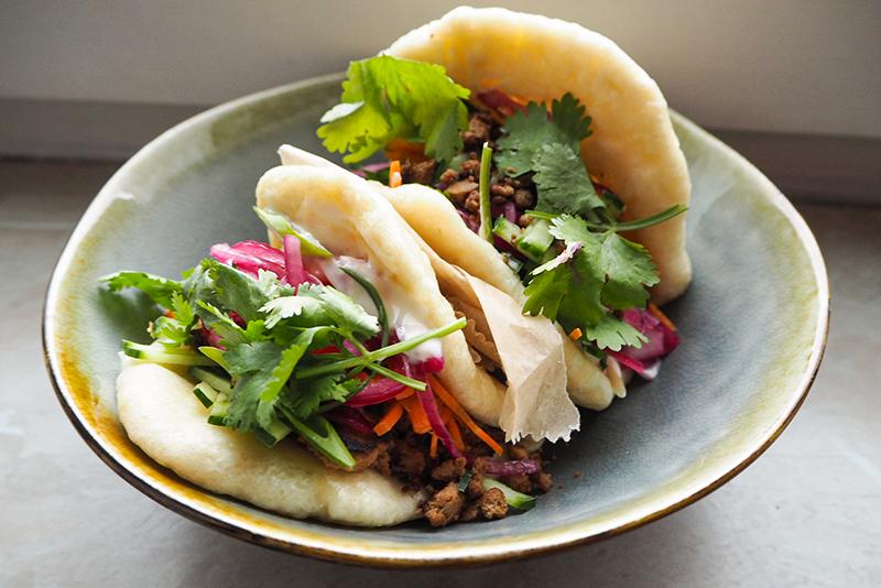 Gua Bao Burger vegetarisch