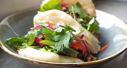 Gua Bao Burger (vegetarisch / vegan)