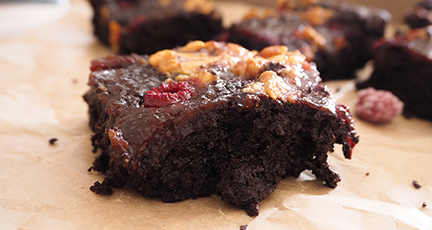 Peanut Butter Jelly Brownies