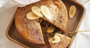 Bananenkuchen mit Schokoladenchunks