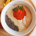 porridge mit erdbeeren und vanille