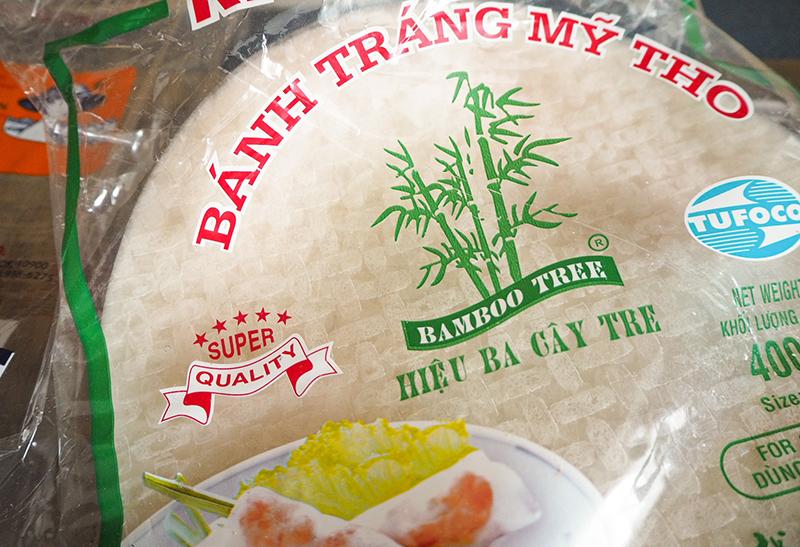 Reispapier für Sommerrollen