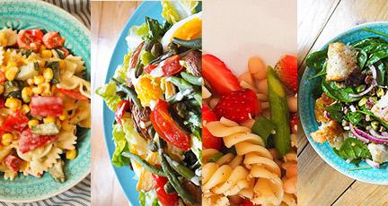 Die 10 besten Sommersalate zum Grillen