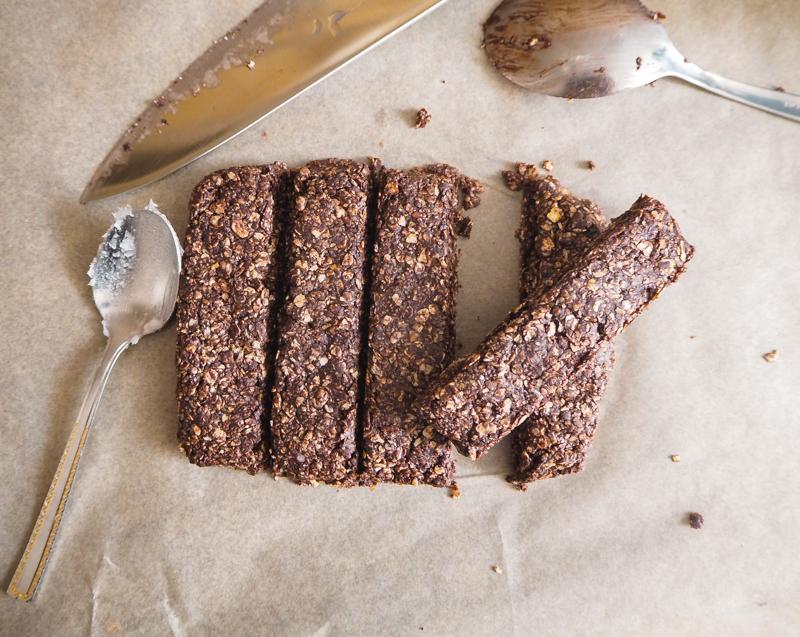 kakao-haferriegel ohne zucker selbermachen