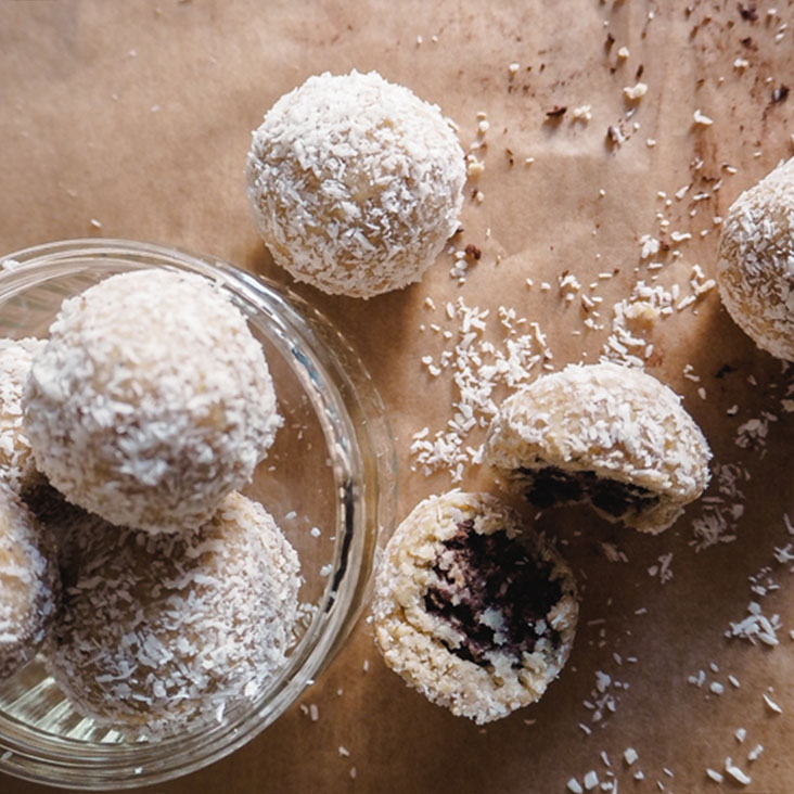 Energy Balls Kokos-Kakao (Bounty-Style)