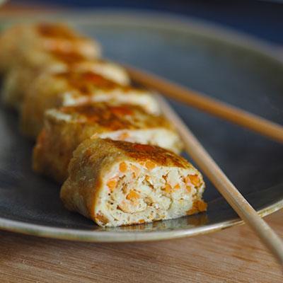 Koreanisches Omelette (Gyeran-mari)